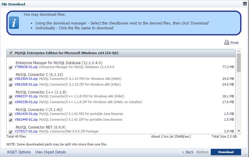 Where to Download MySQL Enterprise Edition? - Jinyu's Blog